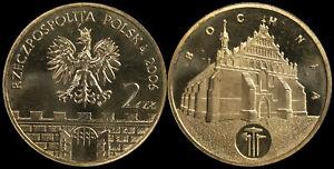 Pologne. 2 Zloty. 2006 (Pièce KM#Y.543 Neuf) Ville historique Bochnia