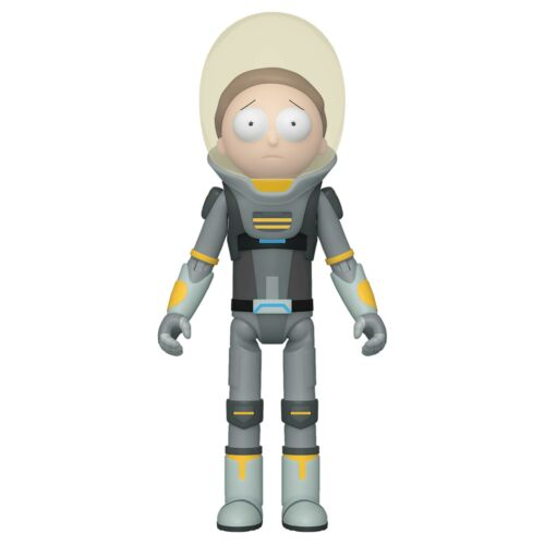 """Funko Rick And Morty Articulated Action Figures Space Suit Morty 5/"""""""