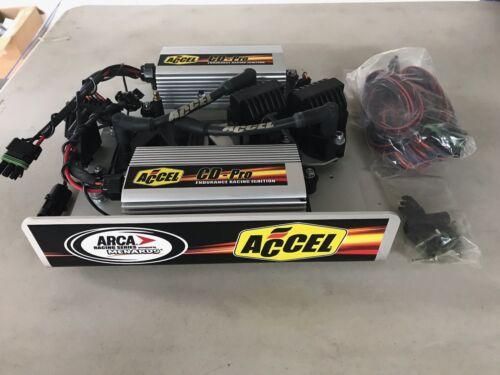Accel 61214 : ARCA Ignition Panel HOTROD Complete NASCAR Dual Box CD-Pro