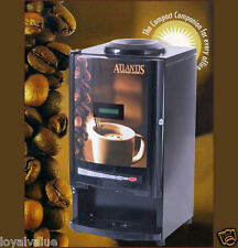 ATLANTIS Cafe Mini Tea Coffee Vending Machine 2 Line dispenser maker