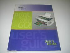 Owner's Manual Epson Stylus Scan 2500 User's Guide Troubleshooting Maintenance