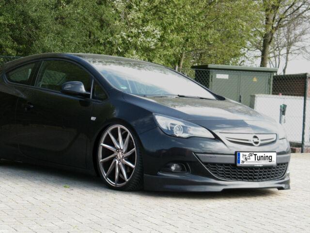 Ingo Noak Frontspoiler Frontansatz aus ABS für Opel Astra J GTC