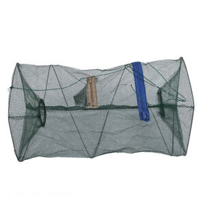 Reti-da-pesca-per-gabbie-telaio-in-lega-di-rete-in-nylon-utensili-da-pesca-T6B7