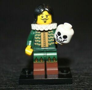 Lego Thespian 8833 Minifigure Series 8 Shakespearean Actor with Skull