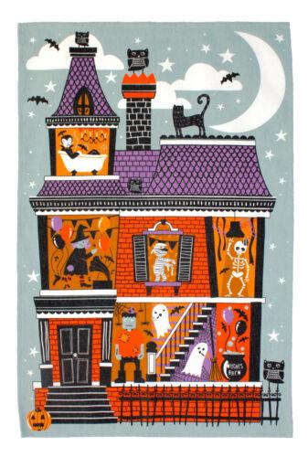 Torchon Spooky House Halloween de Ulster Weavers