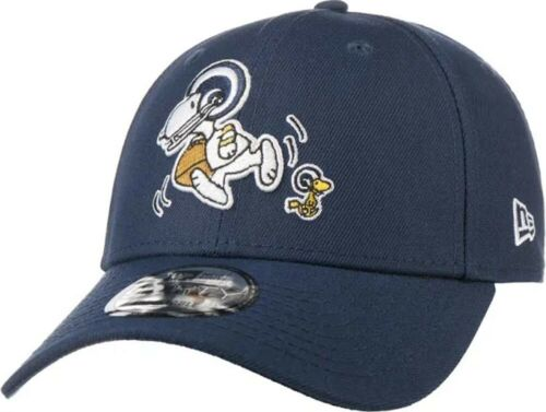 New Era Snoopy Peanuts Los Angeles Rams 9Forty Strapback Cap Limited Edition