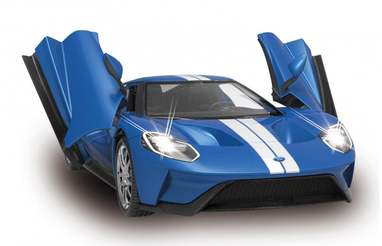 Ford GT 1 14 blau Tür manuell 27MHz ferngesteuertes Modellauto 405158