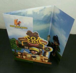 SJ-Children-Hobbies-Malaysia-2012-Football-Cartoon-Animation-folder-limited