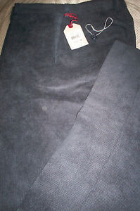 NWT $155 RIVIERA MADE IN CANADA MENS FLAT CORDS CORDUROY PANTS ...