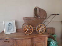 Antique baby doll carriage Winnipeg Manitoba Preview