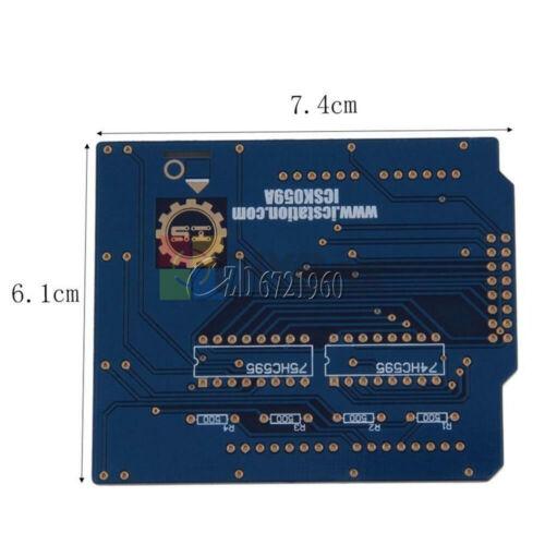 3D LED Light 4x4x4// 8x8x8 Square LED Cube Lamp LED PCB Board Electronic DIY Kit