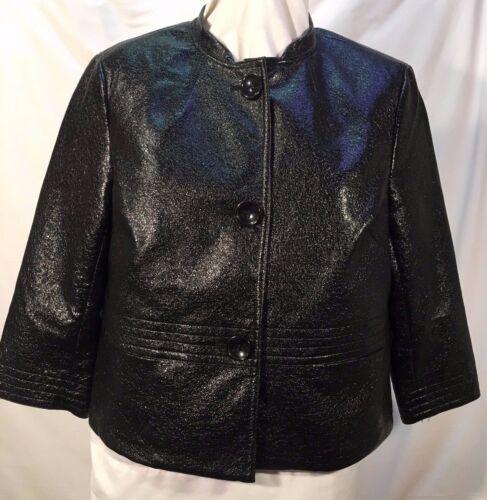 4 Poly 3 Shorty Jacket Giacca Crinkly modello cotone Evan Slv Black picone 12 RfRB0xqT