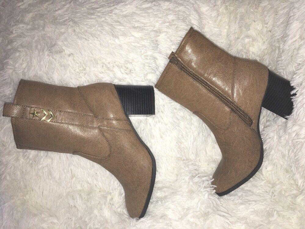 RAMPAGE HERON faux Leder Stiefel NEW 10 M NEW Stiefel b74648