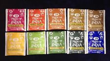 """PRIDE OF INDIA"" Selection Pack 10 Different  Enveloped Tea Bags"