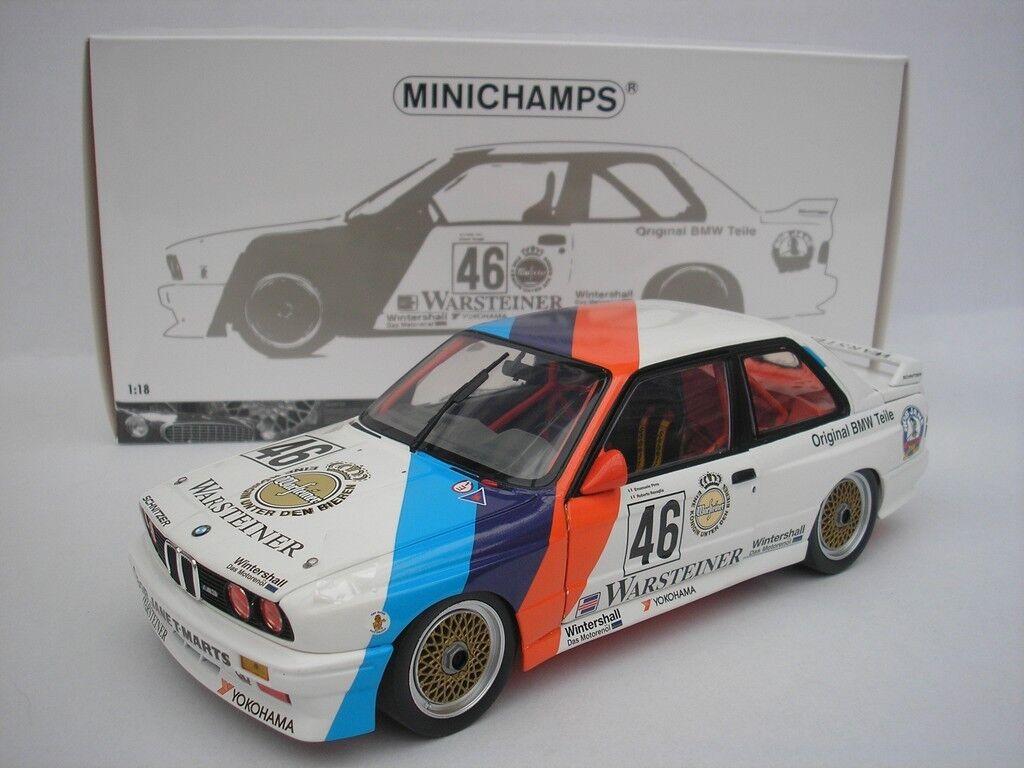 BMW M3 Calder WTC 1987 Ravaglia Pirro 1 18 MINICHAMPS 180872046 NEW