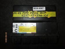 02 03 FORD FOCUS BCM #1S7T-15K600-CC *See item description*