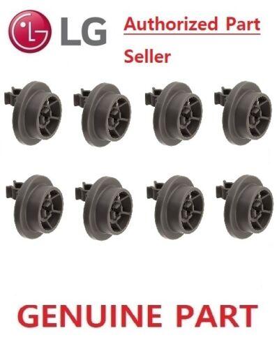 Part # 4581DD3003B LD-1419M2 8 x LG Genuine  Dishwasher Lower Basket Wheel