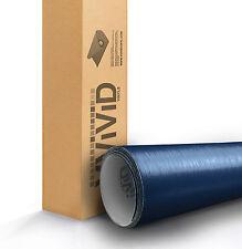 VVIVID Navy Blue brushed aluminum vinyl car wrap 3ft x 5ft 3mil sheet sticker