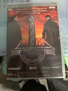 Highlander-Endgame-Christopher-Lambert-Adrian-Paul-DVD-Region-4-Rare-Exrenta