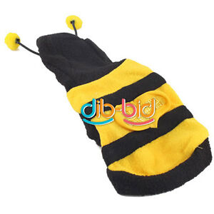 Bumblebee-Dog-Halloween-Costume-Clothes-Pet-Bumble-Bee-Dress-Up-Nice