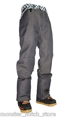 Activewear Neu Mit Etiketten Technine Nines Denim Snowboard Hose Indigo Medium-2xlarge Strengthening Sinews And Bones Men's Clothing