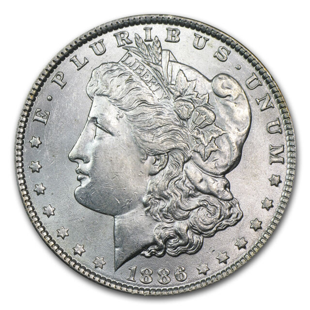 Morgan Silver Dollar Coin - Brilliant Uncirculated