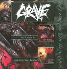 You'll Never See.../And Here I Die...Satisfied by Grave (CD, Feb-2001, Century Media (USA))