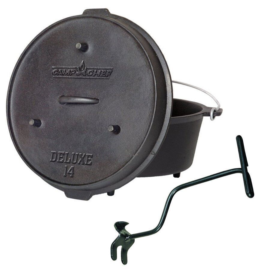 Camp Camp Camp Chef Deluxe Dutch Oven DO-14 c57e4d