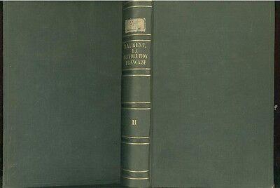 Sonnig Studes Sur L'historie De L'humanite La Revolution Francaise Original 1868
