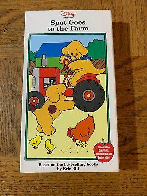 Spot Goes To The Farm Vhs Ebay