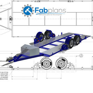 Airbag Car Trailer Plans DIY Build Your Own Lowering Race