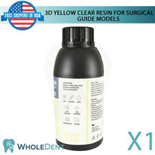 Dental 3d Resin Yellow Clear Material Surgical Guide Model Printer 500g