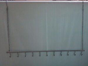 Wandhänger, Dans Shabby Chic, Galvanisé 80 Cm Long-afficher Le Titre D'origine