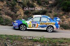 Gustavo Trelles Mitsubishi Lancer Evo VI Tour De Corse Rally 2001 Photograph 3