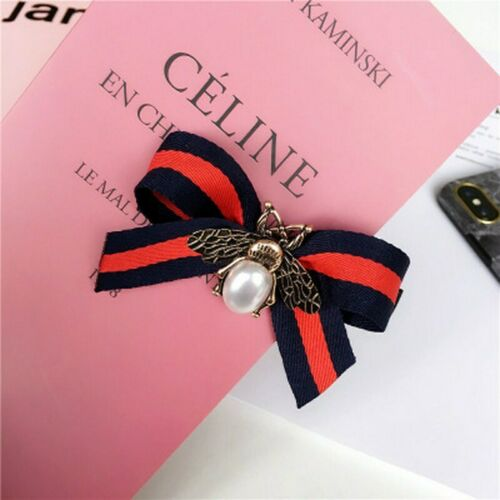Women Girls Hair Holder Rope Ponytail Bow Bee Ties Band Accessories Gifts Tools