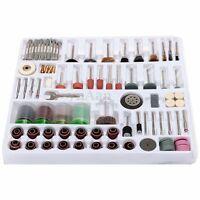 216 Pcs Mini Rotary Power Drill Hobby Tool Accessory Kit For Dremel Multi Tools
