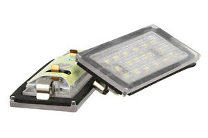 Set-Luces-Placa-Led-BMW-E46-2D-2-Puertos-2004-2006-Blanco-Can-bus-No-Error