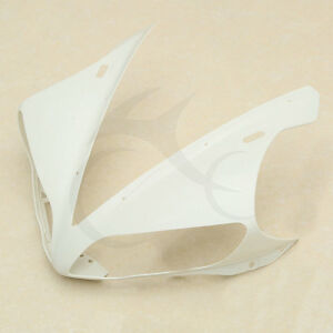 Upper-Front-Cowl-Fairing-Nose-Head-For-YAMAHA-YZF-R1-YZF-R1-04-06-05-Unpainted