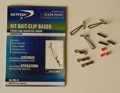 Fishing Sporting Goods Confezione Bait Clip Basso Getfish Luxuriant In Design