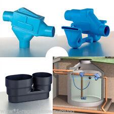 Regenwasserfilter, 3P Zisternenfilter ZF Spar Set, für Einbau in die Zisterne