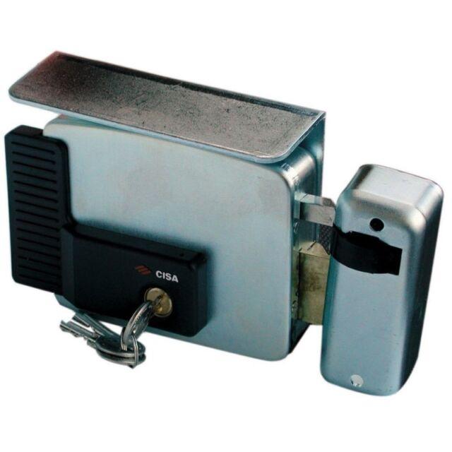 elettroserratura Dx Cisa 11721 serratura elettrica per cancello 80 mm
