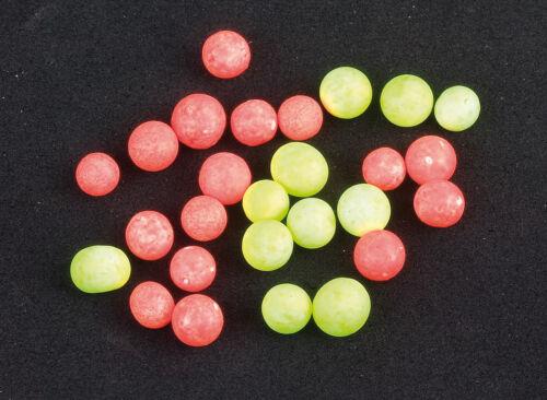 Iron Trout Auftriebskugeln rund gelb oder rot  Power Fixpilot Bait Pilot-Kugeln