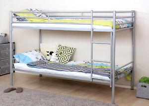 Metallbett Etagenbett : Etagenbett hwc d hochbett gästebett bett metallbett mit leiter