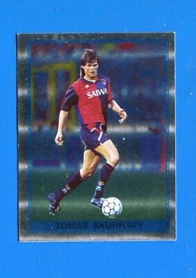 Figurina Sticker Panini NEW 145 GENOA SKUHRAVY CALCIATORI 1991-92 1992 n