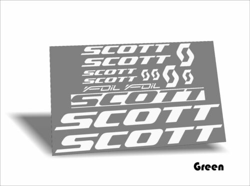 Scott Foil #2 decals stickers 12 options-colors on your choice