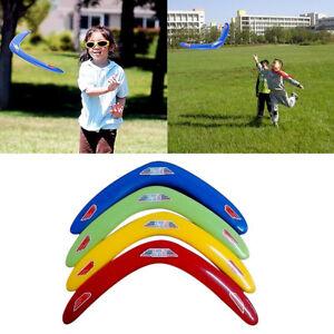 V-Shaped-Boomerang-Genuine-Returning-034-Throwback-034-Kids-Child-Toys-Useful