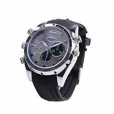 8GB 1080P HD Waterproof Spy Camera Watch With Night Vision