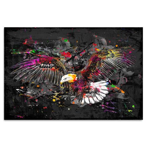 Toile Image XXL Abstrait Adler Nature peintures murales Art pression Canvas Eagle XXL
