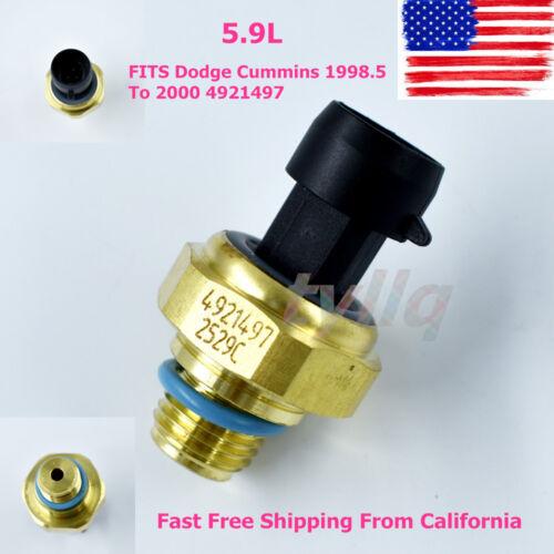 5.9L Map Boost Presure Sensor Fit for Dodge Cummins 1998.5 To 2000 4921497 US