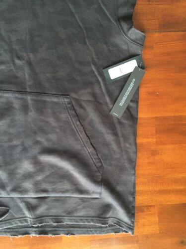 à sans Hudson capuche manches Sweat Jeans Côme anthracite gris OPZTukiX